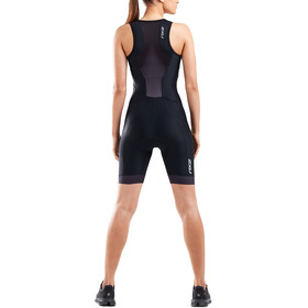 2XU Perform Front Zip Trisuit Women black/shadow